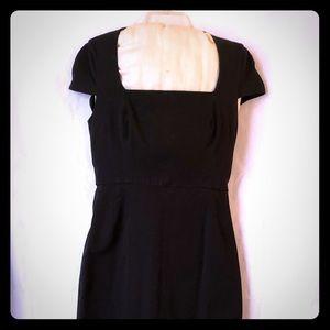 Black Banana Republic stretch sheath dress